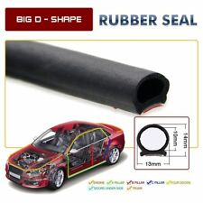 Big D-shape Motor Car Door Rubber Hollow Strip Weatherstrip Sealing 6M 20FT