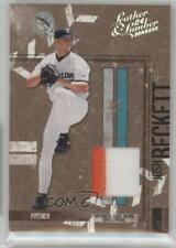 2004 Donruss Leather & Lumber Materials Jerseys Prime /25 Josh Beckett #54