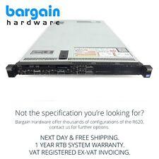 Dell PowerEdge R620 32GB RAM 12x Xeon CPU Cores Cheap 1U Server 2x Hot-Swap PSU