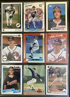John Smoltz, 1980's - 1990's Misc Card Lot