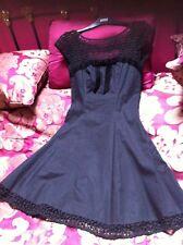 BELLA Warehouse Fit e flare dress size 8 IMMACOLATA (Prom/Palla/occasione)
