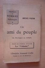 UN AMI DU PEUPLE LA BRETAGNE EN 1848 AMEDEE PIGEON HISTOIRE