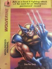 Marvel Overpower Original Wolverine Wounded Animal OPD - NrMint-Mint