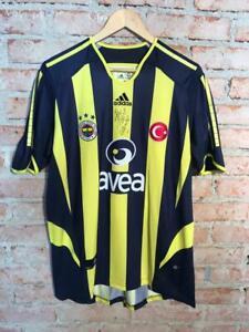 Fenerbahce Adidas Home #20 Alex Matchworn Signed rare
