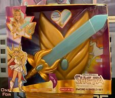 MOTU He-Man She-Ra and the Princesses of Power Sword and Shield Set. NIB