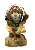 """Wee Forest Folk  """"Chief Geronimouse"""". M-107, Retired With Box Collectible"""