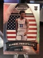 James Wiseman 2020 Panini Prizm Global Prospects USA SP 👀🔥🏀📈🇺🇸