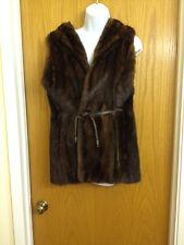 Vintage Mink Fur Vest