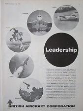 5/1974 PUB BRITISH AIRCRAFT CORPORATION BAC CONCORDE TORNADO JAGUAR 354 AD