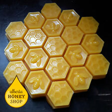 Bulk Beeswax - Large 100% Natural Beeswax Block (608g/1.5lbs)