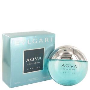 Bvlgari Aqua Marine by Bvlgari 5 oz EDT Cologne Spray for Men New in Box