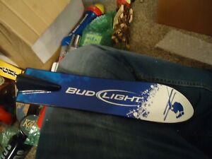 BUD LIGHT BEER TAP HANDLE HUGE TAPPER SALE READ DESCRIPTION SNOW SKI SKIING