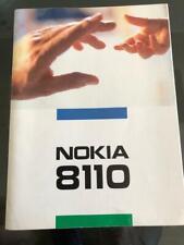 Nokia 8110 Bedienungsanleitung Anleitung Manual Handy Telefon Katalog Prospekt