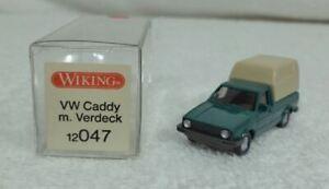 WIKING 12047 VW Caddy afneembaar zeil realistisch Schaal HO 1/87 nieuwe staat