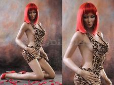 Sexy Big Bust Female Fiberglass Mannequin Dress Form Display #MZ-VIS3