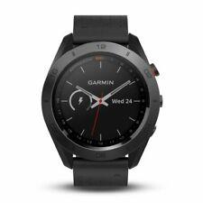 Garmin Approach S60 Superior GPS Golf Reloj Con Cuero Negro Banda 010-01702-03