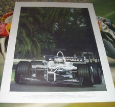 "Jenson Button Williams Formula One Edición Limitada de impresión de arte ""de las sombras"""