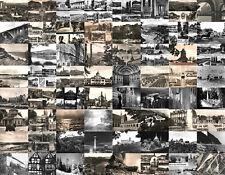 64 verschiedene Ansichtskarten s/w nur DDR    alle beschriftet ( Briefmarke)