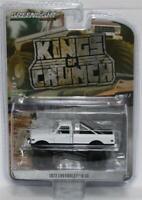 GREENLIGHT 1:64 Kings of Crunch W3 1972 Chevrolet K-10 Monster Truck - White