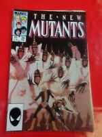 The New Mutants  #28 cover comics Marvel Comic book 90s