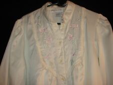Miss Elaine Ivory Color Classics Size Large Nightgown Gown