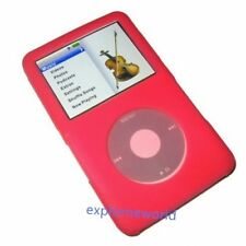 New Red Rubber Silicone Skin Cover Case For iPod Video 30GB Classic Thin Models