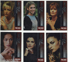 The Sopranos - La Belle Donne - Chase Foil Insert Card Set (6) - 2005 - NM