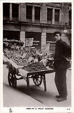London Life. A Fruit Hawker # A 12 by Tuck.