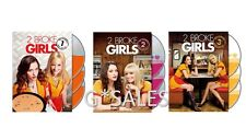 Two 2 Broke Girls TV Series Complete Season 1-3 (1 2 3) BRAND NEW 9-DISC DVD SET