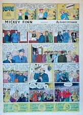 Mickey Finn by Lank Leonard - full tab page color Sunday comic - June 18, 1939