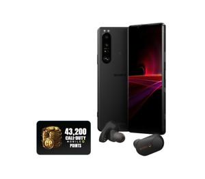 Sony Xperia 1 III 256GB + 12GB Black Factory Unlocked 5G GSM Pre-Ordered Bonus