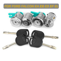 Ignition Barrel & Door Lock & Keys Set for Ford Falcon Fairmont EA EB ED EF  /