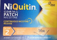NiQuitin Clear 14 mg 7 Patches - Step 2