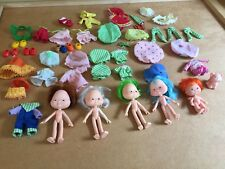 Vintage Strawberry Shortcake Large Lot Dolls Clothes Outfits Stockings Shoes