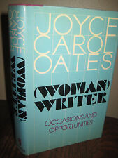 1st Edition WOMAN WRITER Joyce Carol Oates ESSAYS First Printing CLASSIC Prose
