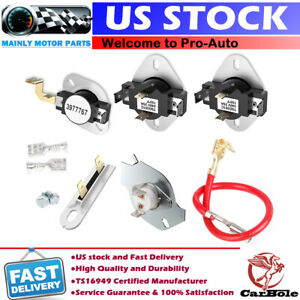 3387134 3977767 3977393 3392519 Dryer Thermostat Fuse kit For Whirlpool Kenmore