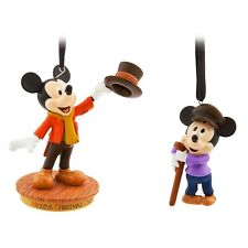 Mickey Mouse Through the Years Sketchbook Ornament Set - Mickey's Christmas Caro
