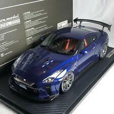 1/18 Ignition Model Nissan Top Secret GTR R35 Blue Metallic IG1535