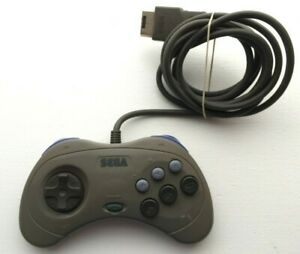 Sega Saturn Official Genuine Authentic Original Grey Controller Gray - US SELLER