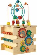 Kidkraft DELUXE ACTIVITY CUBE Preschool & Toddler Wooden Toys BNIP