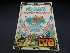 vintage Dungeons & Dragons cartoon series comic book #11 Spain 1985 Comics Forum