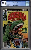 Godzilla 16 CGC Graded 9.6 NM+ Marvel Comics 1978