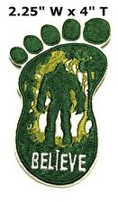 Bigfoot Lives Patch - Sasquatch in the Forest (Iron / Sew-On) Gear Applique