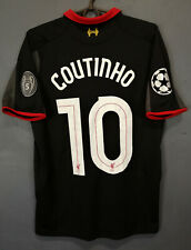 COUTINHO UEFA FC LIVERPOOL 2014/2015 SOCCER FOOTBALL SHIRT JERSEY MAILLOT SIZE S