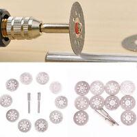 10PCS Diamond Cutting Wheel Saw Blades Cut Off Discs Set Dremel Rotary Saw Tools