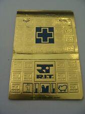 Pochette allumettes - R.I.T. - Recherche & Industrie Thérapeutique - USA - (256)
