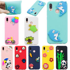 3D Ultra Slim Cute Patterned TPU Silicone Rubber Soft Back Lot Case Cover Bumper