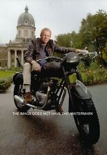 STEVE MCQUEEN LOOK-ALIKE ON TRIUMPH 650cc GREAT ESCAPE 1961 MOTORCYCLING PRINT