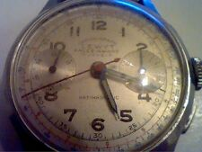 VINTAGE 2 REGISTER LEWYT SALES AWARD 17 JEWEL CHRONOGRAPH WATCH 4U2FIX SPRING