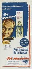 JOE MACBETH Movie POSTER 14x36 Insert Paul Douglas Ruth Roman Bonar Colleano Gr